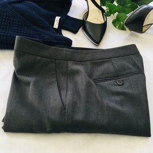THEORY Virgin Wool Trousers Size 8
